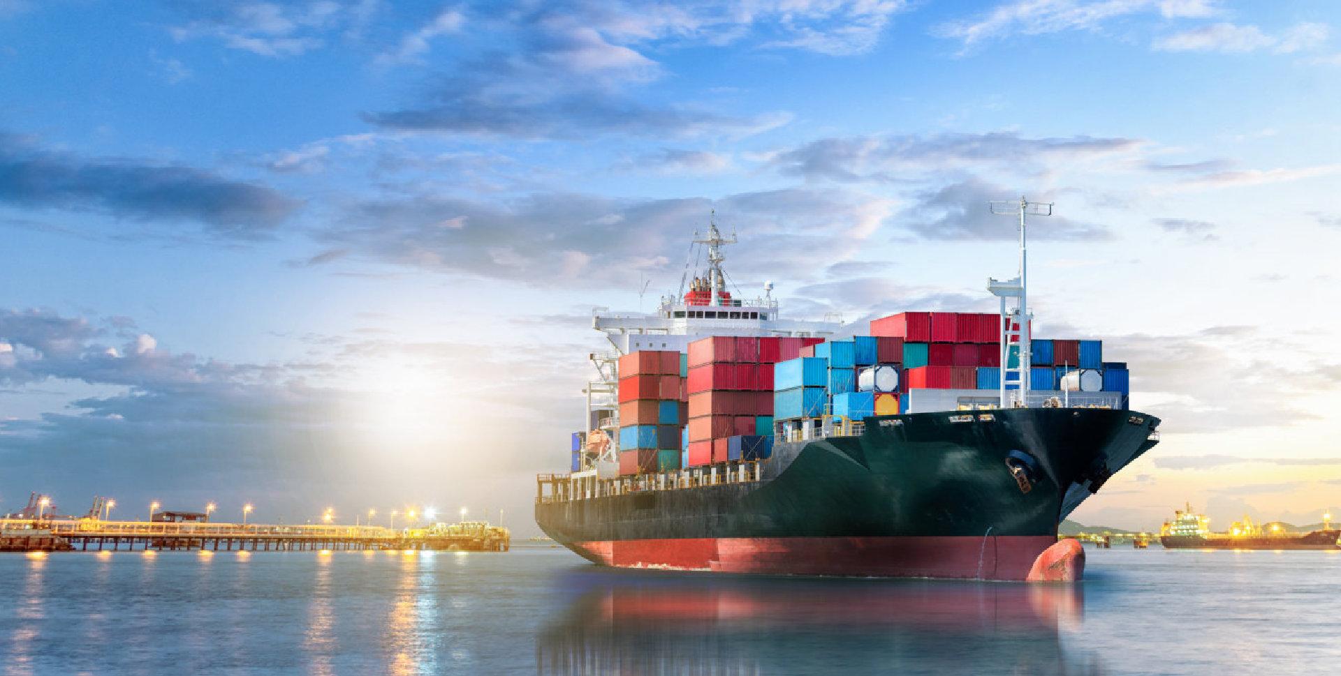 cargo ship